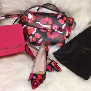 Kate Spade ♠️ bag and matching shoes
